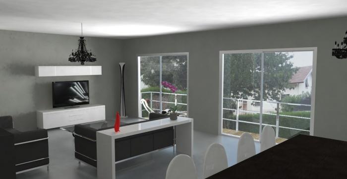 Aménagement intérieur - Maison M à Chambéry  une réalisation de - Amenagement De La Maison