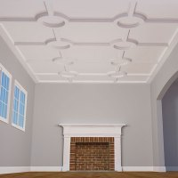 Coffered Ceilings - Coffered Ceiling Designs