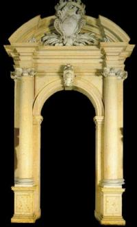 SOLID MARBLE DOOR SURROUND  MODEL DS108 Houston Tx