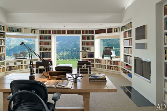 50 Super ideas for your home library - home library design