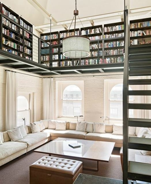 Super ideas for your home library - home library design