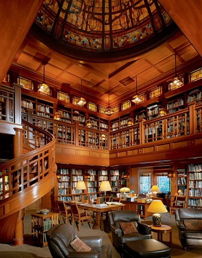 Super ideas for your home library - home library ideas