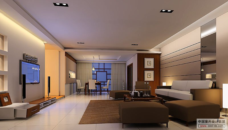 Contemporary Living Room Interior Designs - living room tv