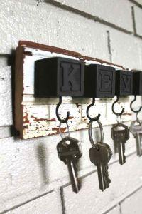 20 DIY Creative Key Holders