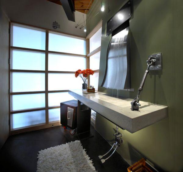 30 Inspiring Industrial Bathroom Ideas - Design Bathroom