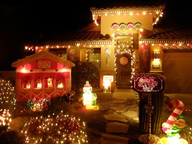 Best 40 Outdoor Christmas Lighting Ideas That Will Leave You - outdoor christmas lights decorations