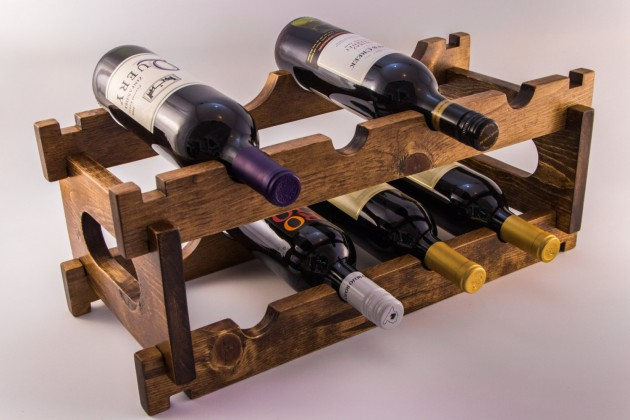 24 Unique Handmade Wine Rack Designs