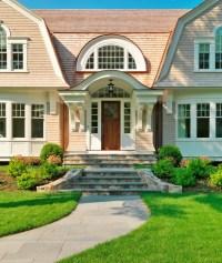 Exterior Front Entrance Stair Ideas - Native Home Garden ...