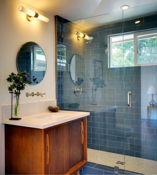 15 Incredibly Modern Mid-Century Bathroom Interior Designs