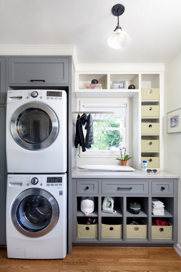 Elegant Laundry Room Designs To Get Ideas From