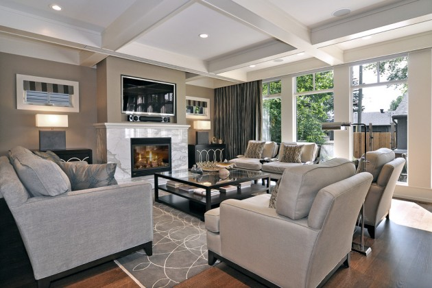 Relaxed Transitional Living Room Designs To Unwind You - transitional style living room