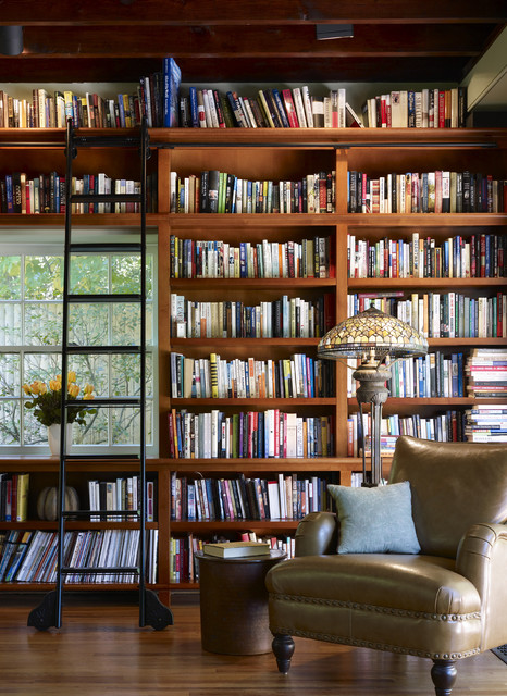 Functional Modern Home Library Designs For All Book Lovers - home library design
