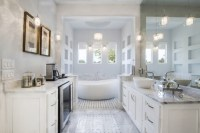 25 Terrific Transitional Bathroom Designs That Can Fit In ...