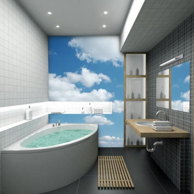Bright Colors Wallpaper 3d 14 Beautiful Wall Murals Design For Your Dream Bathroom