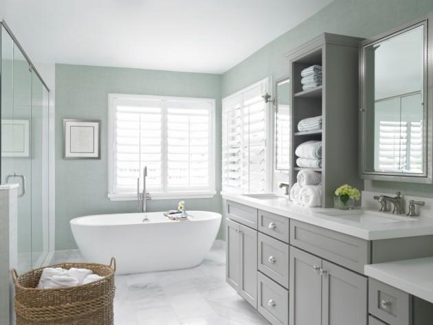 17 Beautiful Coastal Bathroom Designs Your Home Might Need - Design Bathroom