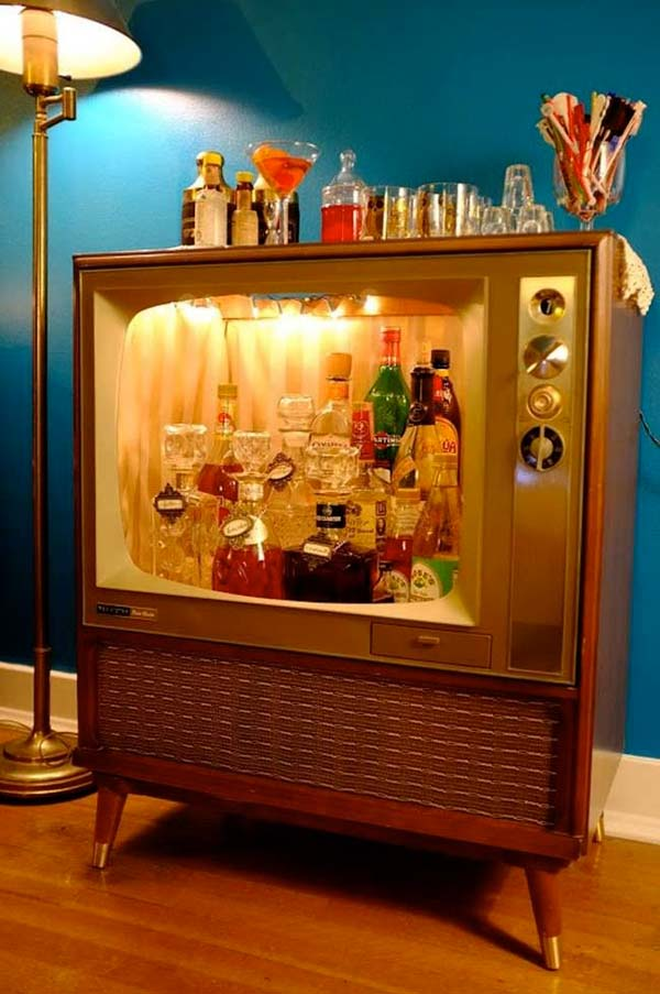 Great DIY Small Home Bar Ideas For The Next Party - home mini bar ideas