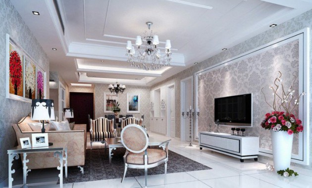 Impressive French Living Room Design Ideas - french style living room