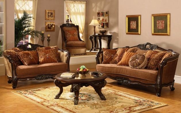 Timeless Antique Living Room Design Ideas - vintage living room ideas