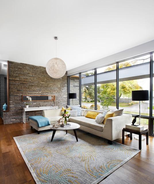 16 Splendid Mid-Century Modern Living Room Designs You Canu0027t Dislike - mid century modern living room