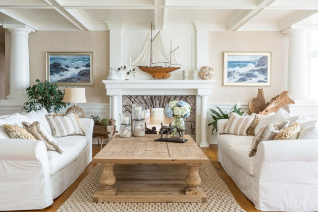 Original Ideas To Decorate Your Living Room In Beach Style - beach style living room