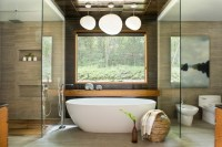 20 Tranquil Asian Bathroom Interiors Designed For Relaxation