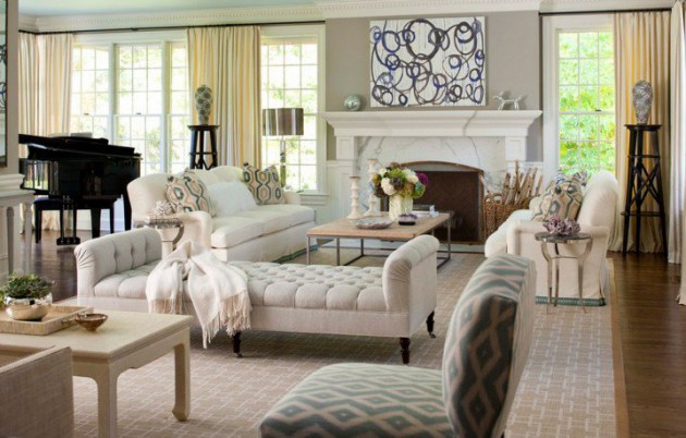 Captivating French Style Living Room Designs That Will Delight You - french style living room
