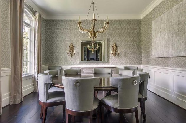 Fall Decor Wallpaper 17 Fabulous Dining Room Designs With Modern Wallpaper