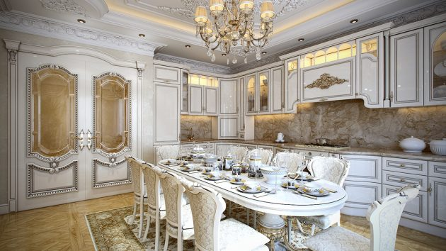 Timeless Baroque Kitchen Designs That You Must See - timeless kitchen design