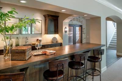 18 Seductive Mediterranean Home Bar Designs For Leisure In ...