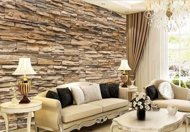 Fascinating 3D Wallpaper Ideas To Adorn Your Living Room - wallpaper ideas for living room