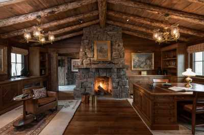 15 Motivational Rustic Home Office Designs That Will ...