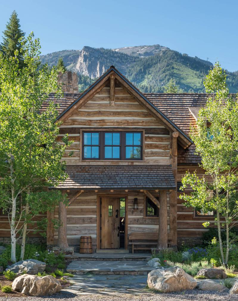 Large Of Rustic Home Exterior