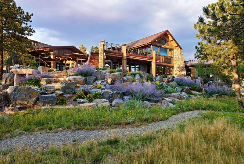 Large Of Rustic Home Exterior Design