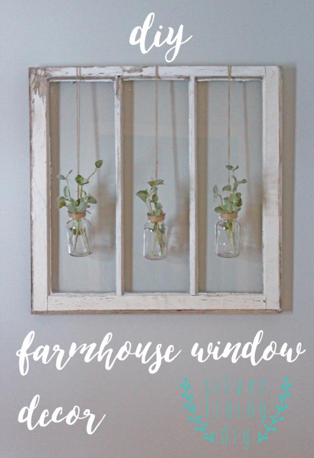 15 Creative DIY Farmhouse Decor Projects For A Rustic Look