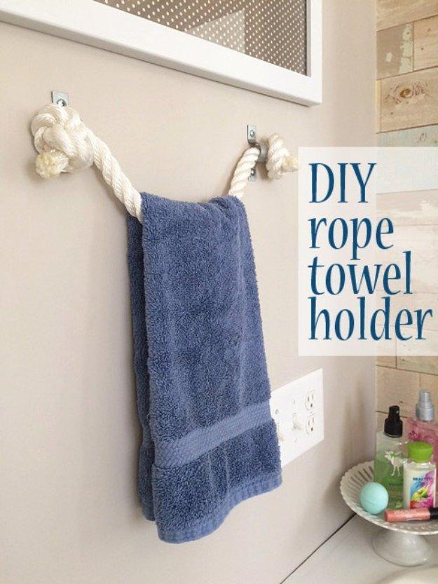 15 Pretty Awesome DIY Ideas For Your Bathroomu0027s Decor - bathroom decorating ideas diy