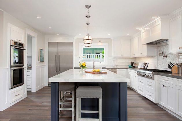 Extraordinary Transitional Kitchen Designs That Will Inspire You - transitional kitchen design