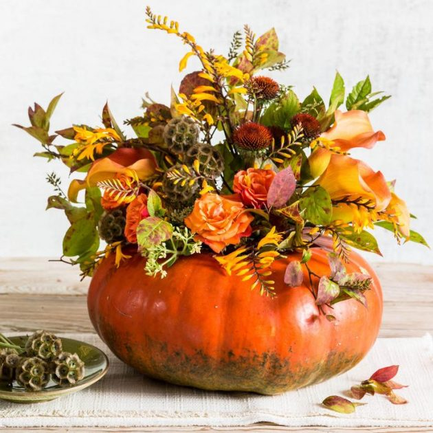 Easy Fall Decorations 15 Totally Easy DIY Fall Flower Arrangements