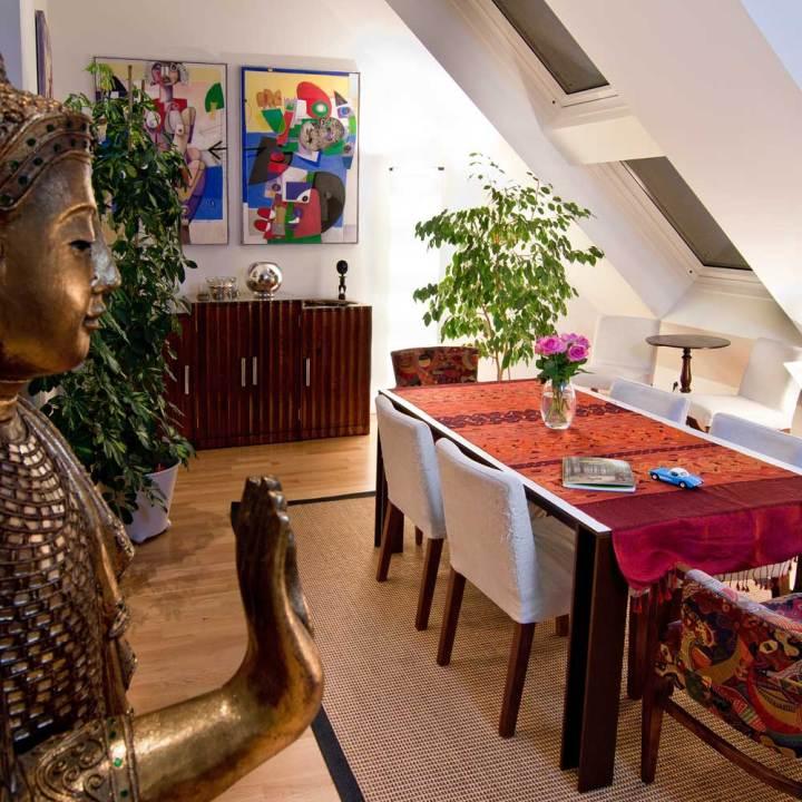 Architekt Daniel Gutmann - Wohnen im Dachgeschoß