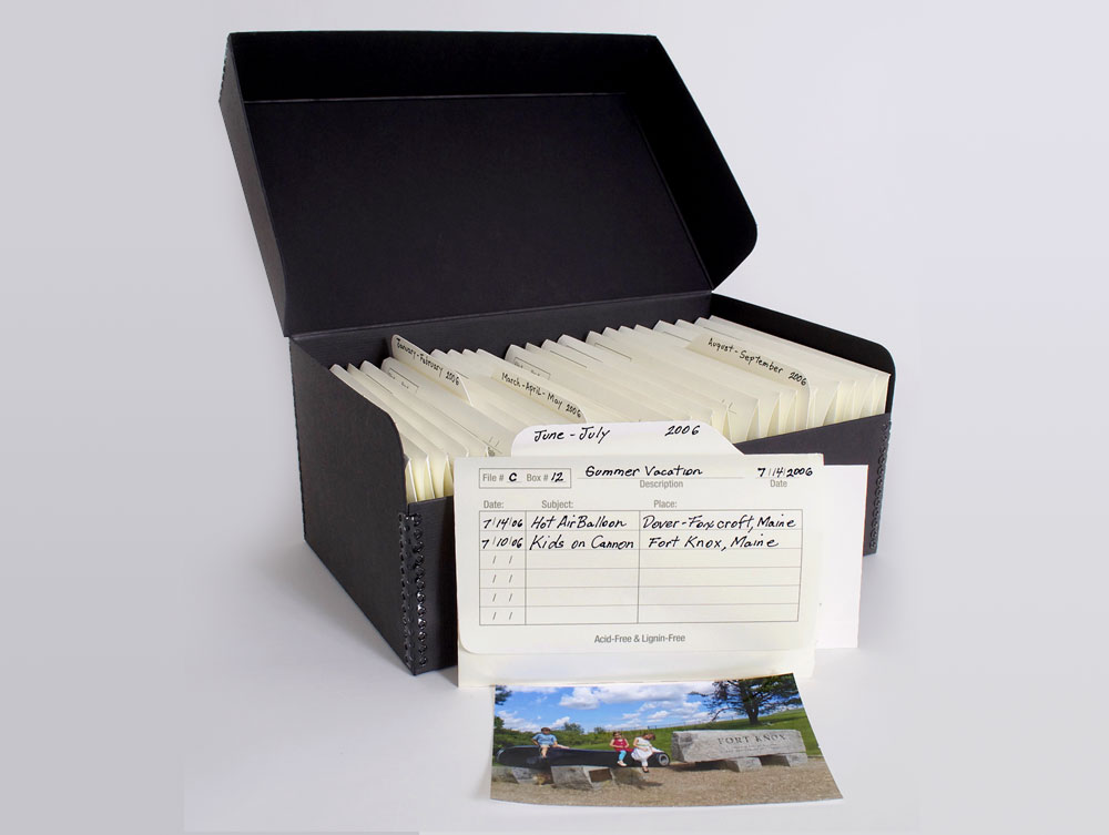 Photo Archival Supplies 4 x 6 ARCHIVE 900 KIT Acid Free Storage
