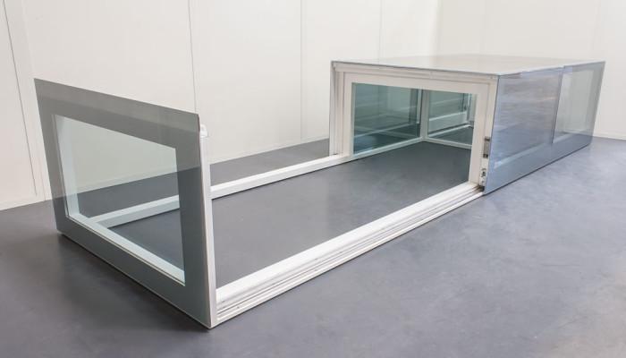 Lucernari in vetro motorizzati variglass archivetro for Lucernari per tetti