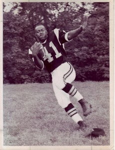 Ann's husband Clyde Thomas was a star running back for the Wheeling Ironmen. After retiring from football, he ran for City Council, won by a landslide, and served four terms. He was the first and, to date, the only African American ever elected to Wheeling's City Council.