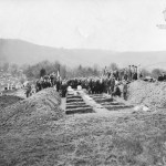 Benwood mine disaster mass burial.