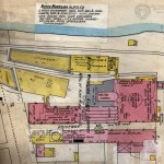 This closeup from the same 1902 Sanborn Map provides interesting details about the operation of North Wheeling Glass.