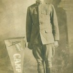 Tom Blake (pictured) worked in the Benwood Steel mill with his brother Leo, who joined the Navy as a machinist mate and was lost aboard the Navy collier, Cyclops in March of 1918. Tom joined the Army and died on October 21, 1918 (some 21 days before the Armistice) in the battle of the Argonne Forest. The Blake brothers, whose grandparents had left Germany so their children would not become cannon fodder in German wars, are buried at Mt. Calvary.