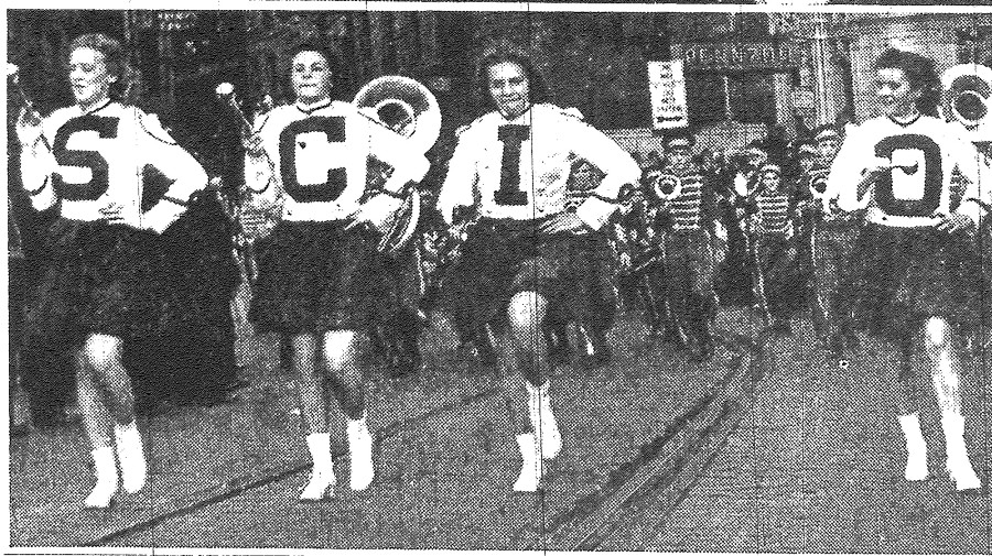 According to the Intell, the Scio High School marching band was the hit of the parade in 1940.