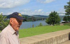 Ed Bearss at Heritage Port, August 6, 2016.