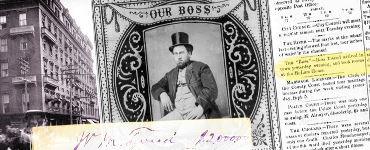 Featured Image: Boss Tweed Visits Wheeling, 1873
