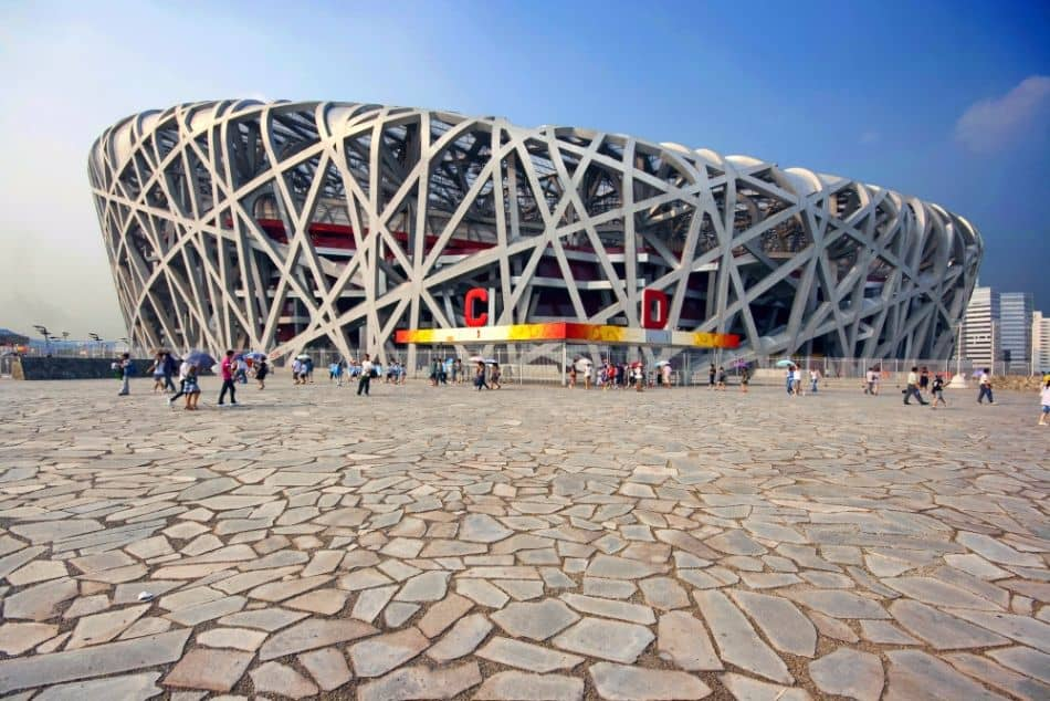 beijing national stadium bird 39 s nest china 39 s behemoth