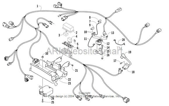2008 arctic cat 366 wiring diagram