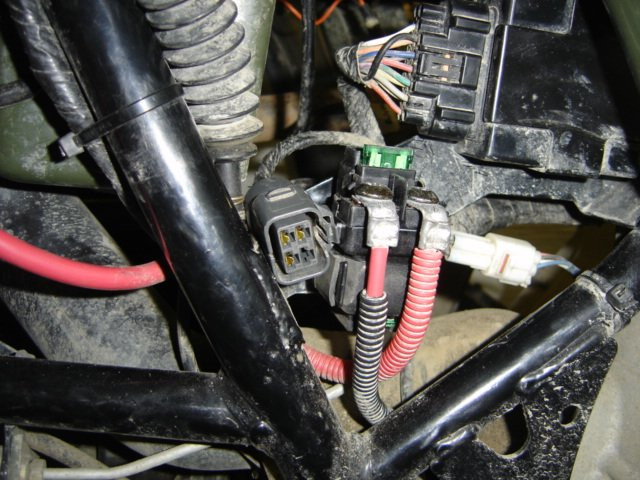starter relay no power after it, 400 atv - ArcticChat - Arctic